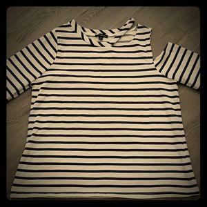 NWT Lane Bryant Striped Sweater Plus Size 14/16